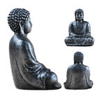 Buddha Statue Resin Valuable Sculpture Meditating Antique Style Home Decor
