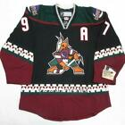 Phoenix Coyotes 97 Jeremy Roenick Hockey Jersey Embroidery Stitched Customize a