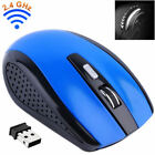 2.4GHz Wireless Optical Mouse Mice & USB Receiver For PC Mac Laptop Computer