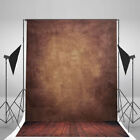 5X7FT Vinyl Studio Photography Backdrop Stand Background Props Flower/Wooden UK