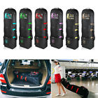 Folding Golf Storage Travel Bag Cover Flight Consignment Rolling Wheel Case