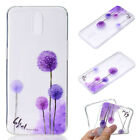 For OPPO TPU Silicone Clear Skin Soft Cute Case Cover Protective Pattern Back