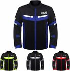 Mesh Motorcycle Jacket Mens Summer Motorbike Biker Riding Breathable CE ARMORED
