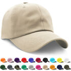 Cotton Dad Hat Womens Blank Mens Baseball Cap Polo Style Washed Golf Ball Cap US
