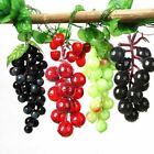 12/22/45 Grapes Artificial Plastic Fake Fruit Bunch Lifelike Display Home Decor