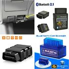 ELM327 Bluetooth OBD2 Car Diagnostic Scanner Code Reader For Android Torque USA