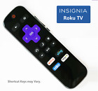 Replacement Remote for ROKU Smart TV (TCL/Sharp/ INSIGNIA/ HISENSE/ HITACHI/RCA)