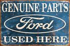 Ford Parts Used Here Retro Vintage Style Metal Sign, garage, man cave, shed, car