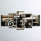 Old Vintage Classic Car 5 Piece Canvas Art Wall Art Picture Painting Home Decor