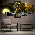 5pcs Canvas NIGHTMARE BEFORE CHRISTMAS Wall Art Picture Jack Skellington Poster