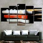 Electric Guitars Stack 5 Piece Canvas Art Wall Art Picture Painting Home Decor