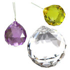 1X(40MM Feng Shui Faceted Decorating Crystal Pendant Ball(Clear) M3G3)