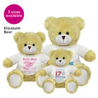 Personalised Name Birthday Elizabeth Teddy Bear Present Gifts Ideas Boys Girls
