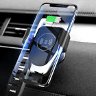 Qi Wireless Charger Car Air Vent Mount Holder For Iphone Xs 8 Max Samsung S8 S9