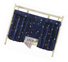 Cabin Bunk Bed Tent Curtain Cloth Dormitory Mid-sleeper Canopy Spread Blackout C