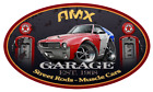 1968 1969 AMC AMX Classic Garage Sign Wall Art Graphic Sticker