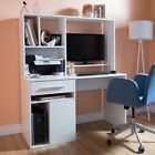 Annexe Home Office Rectangular Computer Desk with Hutch by South Shore