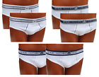 SERGIO TACCHINI. 6 Mens briefs, Cotton, Elastic outside. Underwear - 9001