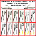 Orthodontic Wire Bending Plier Forming Loop Wire Ligature Pin Hard Wire Cutter