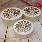 Laser Cut Wooden Box Decorative Case Jewellery Make Up Box Rounded Oval Box 3in1