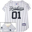 New York Yankees Pet Jersey MLB clothes for Dog / Cat Sizes XS-XXL