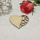 Blank Wooden Hearts Shapes Templates Tag Embellishments Natural Save the Date