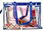 Stylish Women Jelly Candy Beach Bag Transparent Handbag Tote Shoulder
