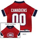 Montreal Canadiens Pet Jersey NHL clothes for Dog / Cat Sizes XS-XL $24.76 USD on eBay