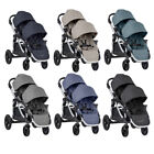 Baby Jogger 2020 City Select Double Twin Tandem Stroller with Second Seat - NEW