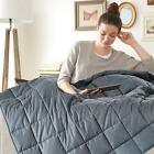 Weighted Sensory Cure Blanket Insomnia Anxiety 15lbs 17lbs 20lbs 25lbs Gravity