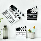 Movie Film TV Slate Clapper Board Dry Erase Clapboard Cut Action Scene Decor