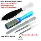 Chiropody Podiatry Manicure Nail File Hard Dead Skin Remover Dual Sided Filer