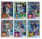 2019 Topps Series 1 Chrome Silver Promo Pack  - U Pick Choose FREE SHIP