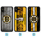 Boston Bruins Phone Case For Apple iPhone X Xs Max Xr 8 7 Plus 6 6s $3.99 USD on eBay