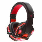 Gaming Headsets Stereo Earbuds Headphones with Lamp for Computer Professional EN