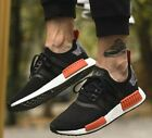 New adidas NMD R1 Mens sneaker black orange burnt camo all sizes