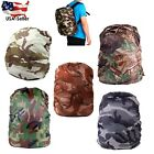 Camouflage Rain Water Resistant Backpack Cover Camo Nylon