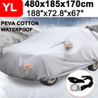 15.7ft SUV Car Cover Waterproof Breathable UV Rain Snow Dust Resistant Protector