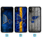 St. Louis Blues Phone Case For Apple iPhone X Xs Max Xr 8 7 Plus 6 6s $3.99 USD on eBay