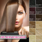 """Real Human Hair Extensions Full Head Clip in Remy Hair 15""""70G AAA+ Quanlity"""