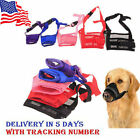 NEW Dog Pet Puppy Mouth Mask Stop Chewing Muzzle Safety Adjustable Anti Bite USA