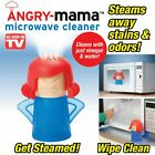 Microwave Cleaning Angry Mom Oven Steam Cleaner Disinfection Tool for Kitchen