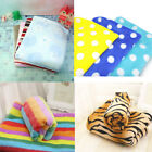 Pet Dogs Puppy Cat Print Soft Cosy Warm Travel Basket Car Flannel Blanket Towel