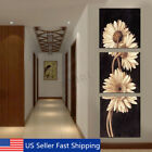 3Pcs Chrysanthemum Art Canvas Painting Print Wall Pictures Home Decor Unframed !