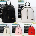 Fashion Women Mini Bags Backpack School Shoulder Bag Rucksack Leather Travel Bag