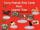 Leanin Tree YOUNG CHILDREN Cards Animals, horses, dog birds cats rabbits ASSORT