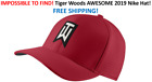 RARE 2019 Nike TW Ultralite Red Golf Hat Tiger Woods FREE SHIP IN BOX