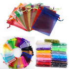 100pcs Organza Bags Wedding Xmas Party Favor Gift Candy Jewelry pouches