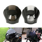 Smoke/Clear Quarter Fairing Windshield For Harley Sportster XL 883 1200 88-Up $57.98 USD on eBay