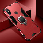 For Xiaomi Redmi Note 8 7 6 Magnetic Shockproof Kickstand Hard Armor Case Cover